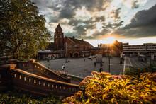 Sonnenuntergang Am Gießener Bahnhof