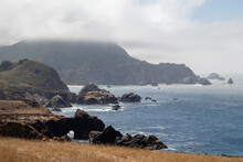 Big Sur Coast Line In Californ...