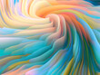 canvas print picture - Swirling Colors Backdrop