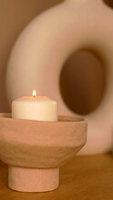 A Photo Of A Decoratice Candle...