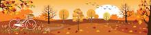 Vector Illustration Of Horizon...