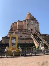 Wat Chedi Luang à Chiang Mai, Thaïlande
