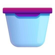 Plasticware Icon. Cartoon Of P...