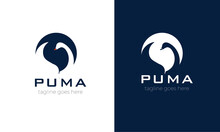 Duck Logo Design Vector In Whi...