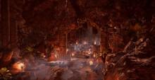 Cave Temple Entrance
