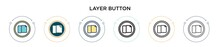 Layer Button Icon In Filled, T...