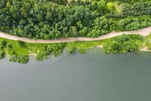 Beautiful Aerial Top View Of D...