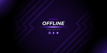 Abstract Twitch Offline Backgr...