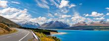 Mount Cook Highway Panorama Al...