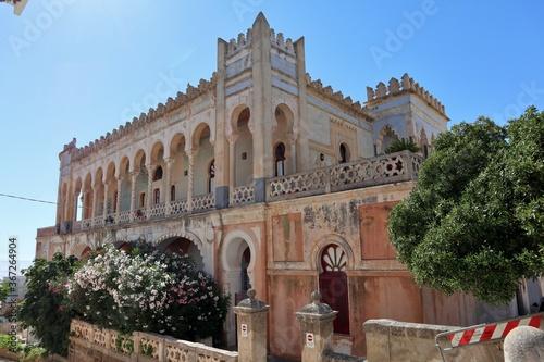Fotografie, Obraz Santa Cesarea Terme - Facciata laterale di Palazzo Sticchi