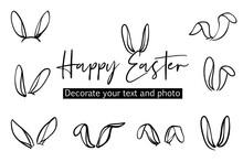 Bunny Ears Easter Decoration I...