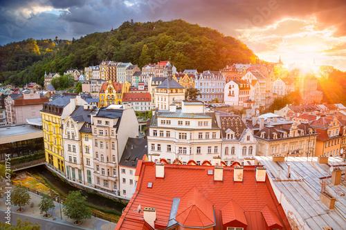 Obraz na płótnie Karlovy Vary, Czech Republic