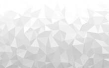 Gray Polygonal Mosaic Backgrou...