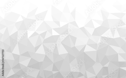Gray polygonal mosaic background, Vector illustration, Used for presentation, website, poster, business, work.