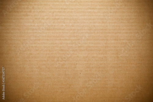 Brown corrugated cardboard background Canvas