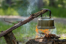Tourism. Making Boiling Water ...