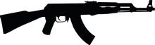 Ak47 Eps Vector File Sub Machine Gun