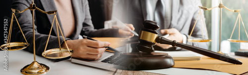 Justice and law concept Fototapet