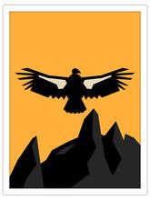 California Condor   Postcard Template