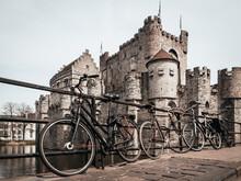 Biking In Belgium - A Stop In Gravensteen