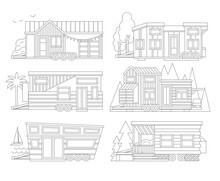 Small Tiny Houses. Modern Mobi...
