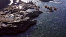 Aerial Footage Of Laguna Beach Coastline