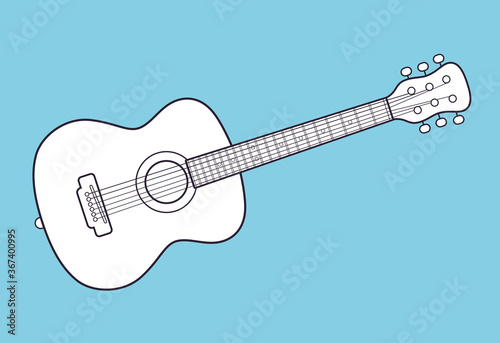 Photo Acoustic guitar icon