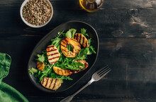Grilled Halloumi Cheese Salad ...