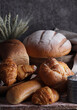 assortment of bakery fresh bread and buns