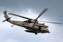 Army Helicopter With Large Fue...