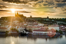 The Prague Castle Complex In C...
