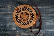 Modern Stylish Round Straw Bag...