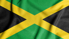 National Flag Of The Jamaica. ...