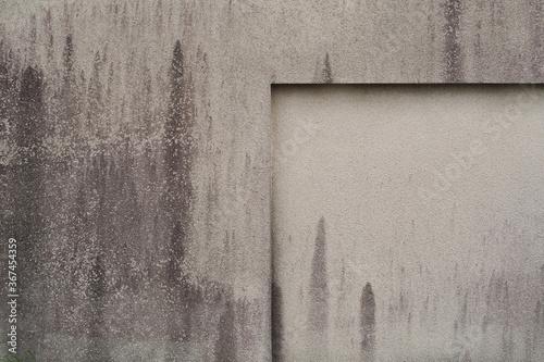 Fototapeta Betonowa ściana ze śladami brudu