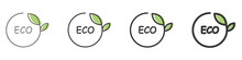 A Set Of Organic And Eco-frien...