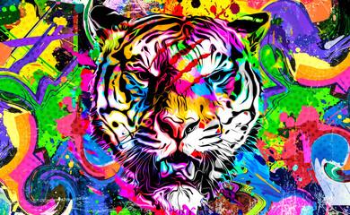 tekstura kože tigra