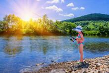 Young Beautiful Fisher Girl C...