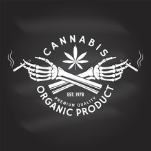 Medical Cannabis Badge, Label ...
