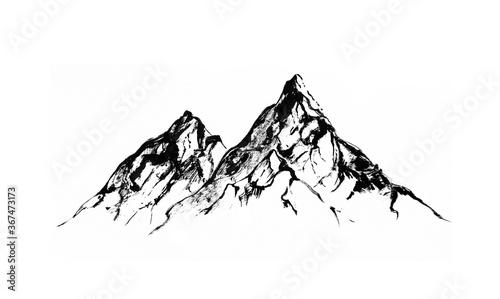 Papel de parede Mountains, rocky peaks