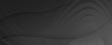 Black Digital Background. Flui...