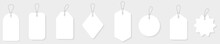Blank White Paper Price Tags O...