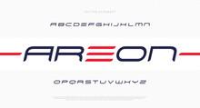 Modern Futuristic Minimal Font...