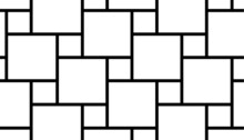Black Square Grid Pattern Vector