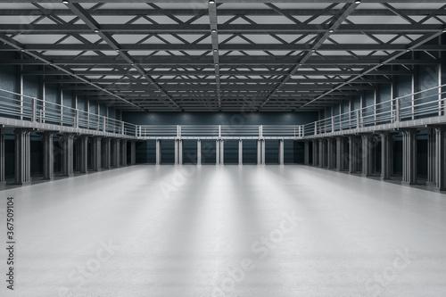 Obraz Modern large showroom - fototapety do salonu