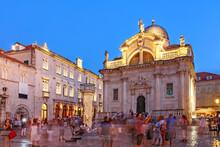 Evening Scene In Dubrovnik, Cr...