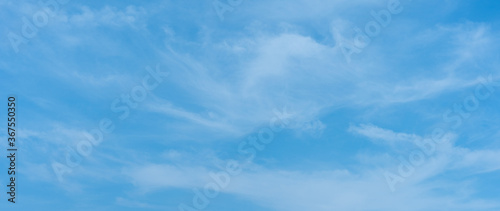 Sky blue background. Cloud clear abstact texture Fototapet