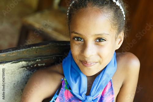 beauty cuban girl III , cuba Canvas Print