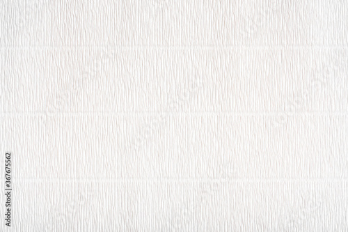 Foto corrugated paper texture. white art paper texture