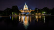 United States Capital Building in Washington DC at Night