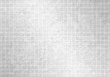 Light Halftone Dots Pattern Te...